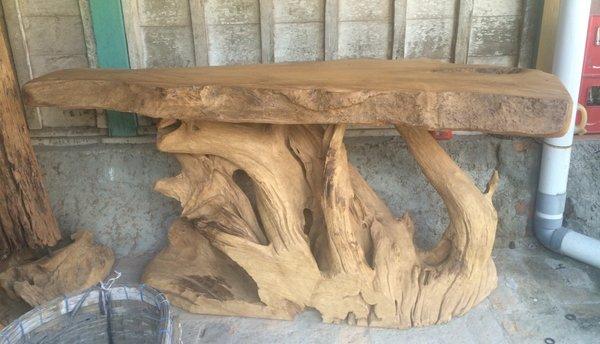 Bartisch Theke Tisch Bar Anrichte Stehtisch Esstisch Küchentisch Holz